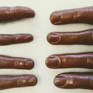 Chocolate fingers (Human)