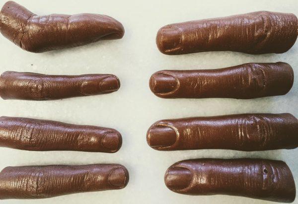 Chocolate fingers (Human)